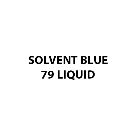 Solvent Blue 79 Liquid
