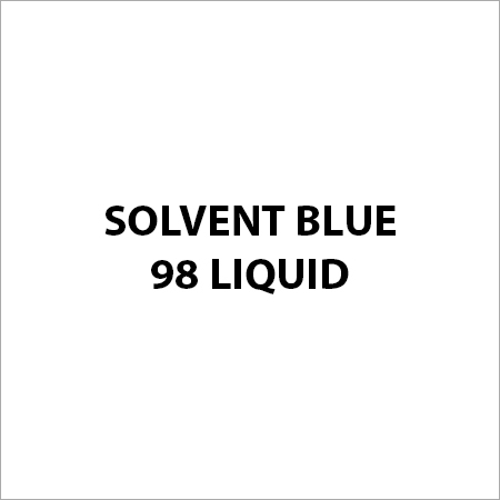 Solvent Blue 98 Liquid