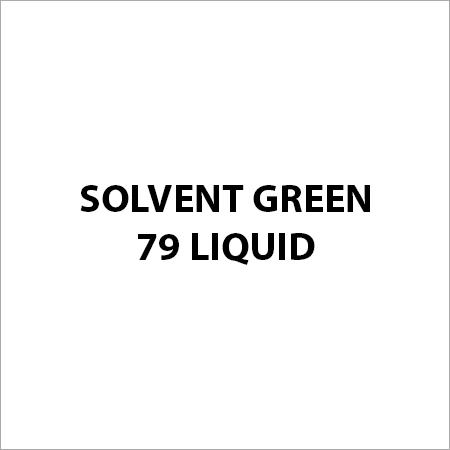 Solvent Green 79 Liquid