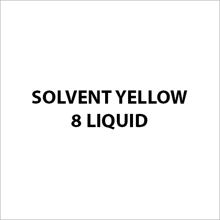 Solvent Yellow 8 Liquid