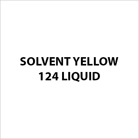 Solvent Yellow 124 Liquid