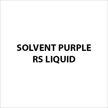 Solvent Purple RS Liquid
