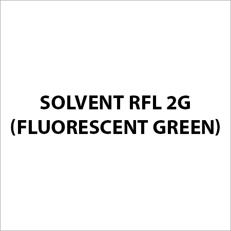 Solvent RFL 2G (Fluorescent Green)