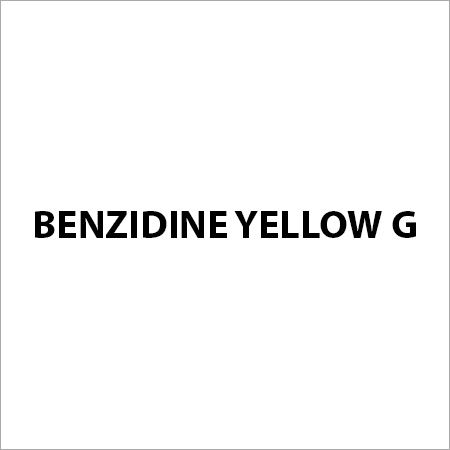 Benzidine Yellow G