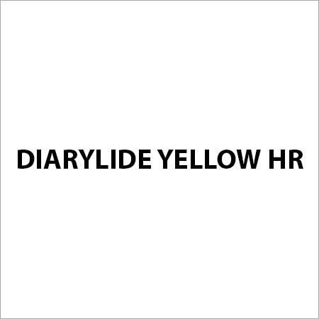 Diarylide Yellow HR