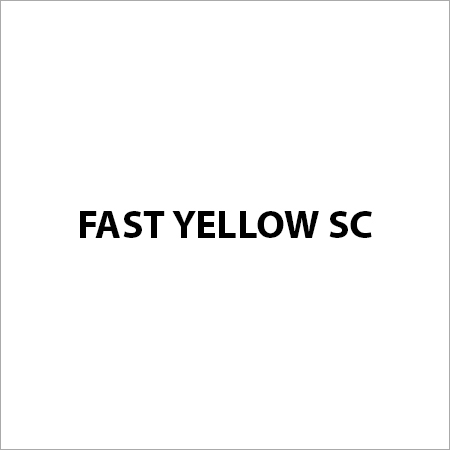 Fast Yellow SC Pigment