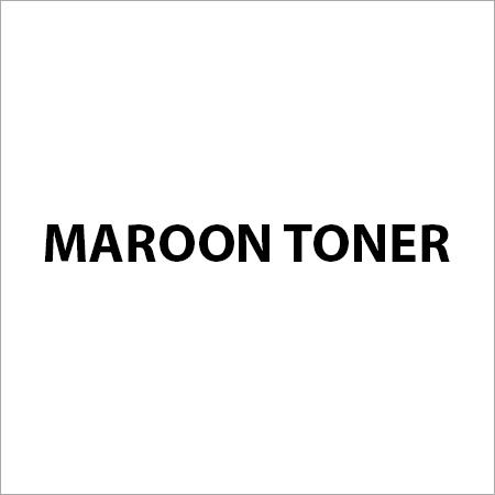 Maroon Toner Pigments