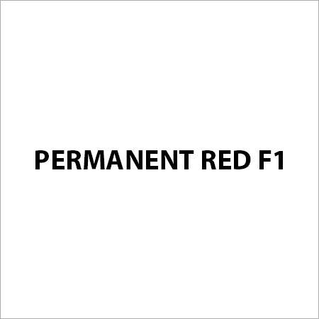 Permanent Red F1