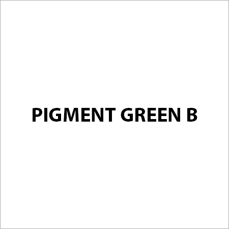 Pigment Green B