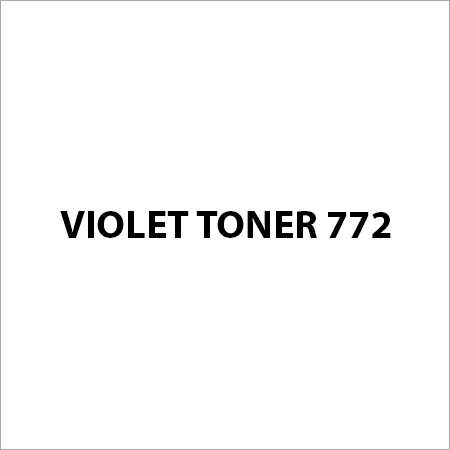 Violet Toner 772 Pigment