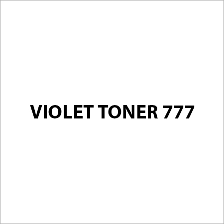 Violet Toner 777 Pigment