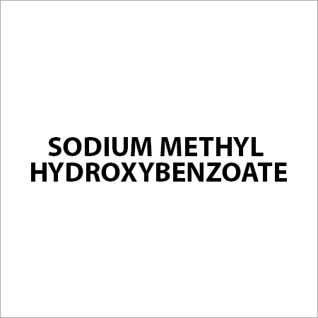 Sodium Methyl Hydroxybenzoate