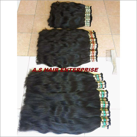 Double Drawn Indian Human Hair