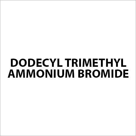Dodecyl Trimethyl Ammonium Bromide