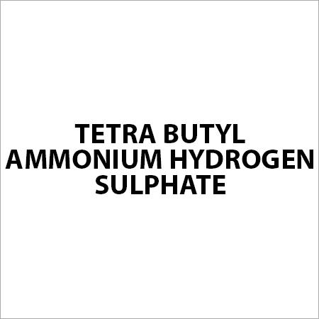 Tetra Butyl Ammonium Hydrogen Sulphate
