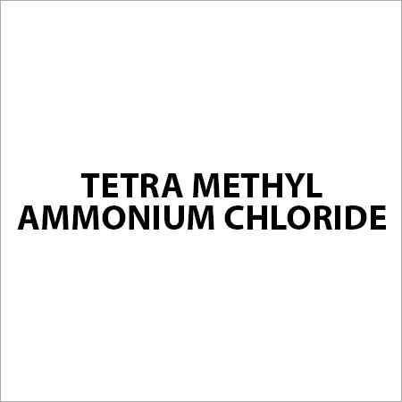 Tetra Methyl Ammonium Chloride