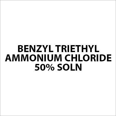 Benzyl Triethyl Ammonium Chloride 50% Soln