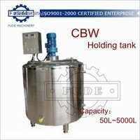 500L Chocolate Holding Tank