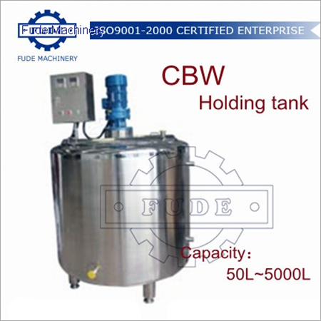 1000L Chocolate Holding Tank