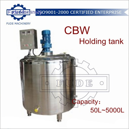 2000L Chocolate Holding Tank