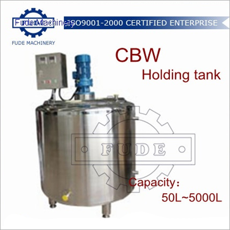 3000L Chocolate Holding Tank