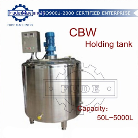 5000L Chocolate Holding Tank