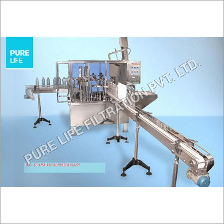 Automatic Bottle Filling/Rising/Capping Machine
