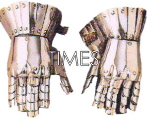 Medieval Armour Gloves