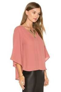 Peach Loose Top