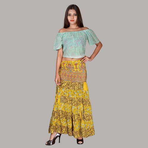 Girls Designer Long Skirts