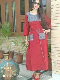 Ethnic cotton kurti