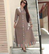 Long cotton dress