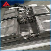 Square Titanium Basket For Metal Electroplating