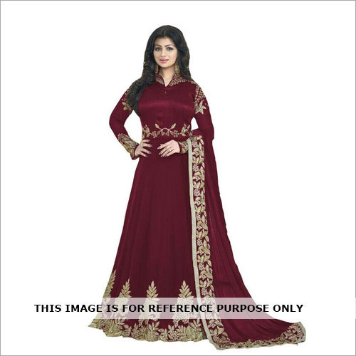 FANCY DESAIGNER LONG ANARKALI GAUN