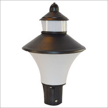 Perry Clear Black Garden Gate Lights