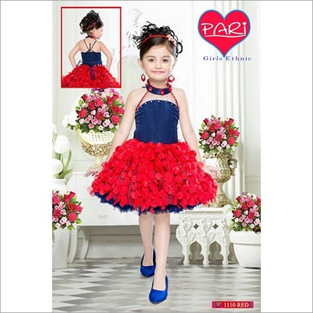 Stylish Girls Frock