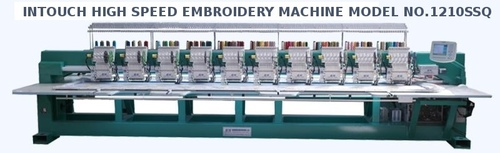 Intouch High Speed Embroidery Machine Model.121SSQ