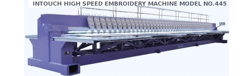 Intouch High Speed Embroidery Machine Model No.445