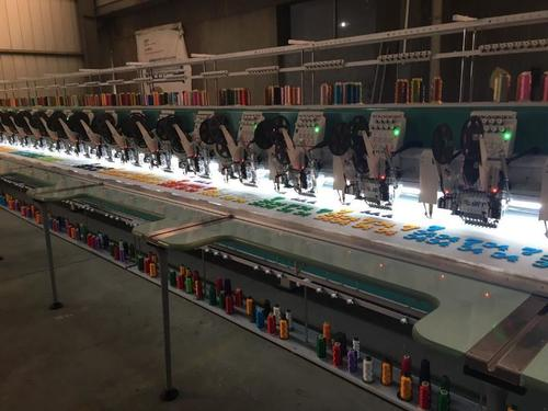 Intouch High Speed Embroidery Machine Model No.450