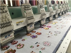 Intouch High Speed Embroidery Machine Model No.448
