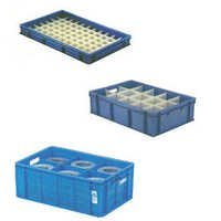 customized fabricated plastic crates