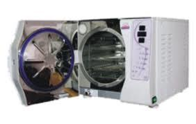 FRONT LOADING AUTOCLAVE WITH VACUUM & DRY CYCLE (ADVANCED MODEL SEMI AUTOMATIC)