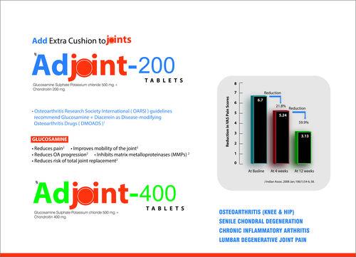Glucosamine and Chondroitin Tablets