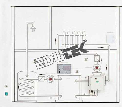 Domestic Heating System Control Training Panel - Domestic Heating ...