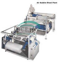 Air bubble production line
