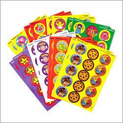 Multicolor Stickers
