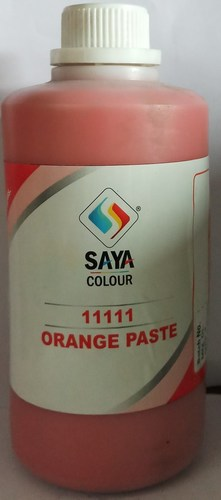 Orange 5 Pigment Paste