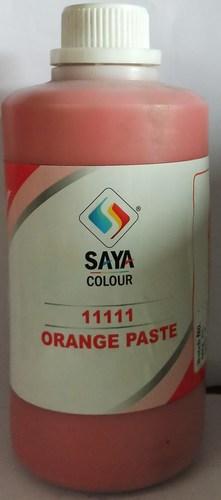 Orange Pigment Paste
