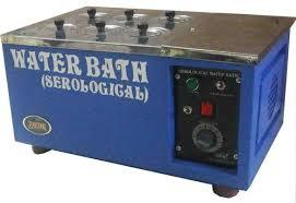 SEROLOGICAL WATER BATH WITHOUT RACKS&THERMOMETER