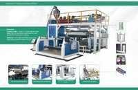 Broad Width Plastic Extrusion Laminating Machine